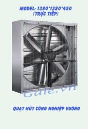 Quạt hút công nghiệp (trực tiếp) 1380x1380x450