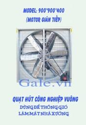Quạt thông gió công nghiệp vuông 900x900x400