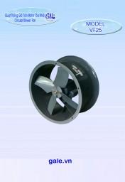 Quạt hút công nghiệp tròn VF25