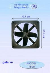 Quạt hút công nghiệp vuông Gale RF25