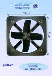 Quạt hút công nghiệp vuông Gale RF50
